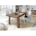 Fiorano extendable dining table in walnut finish