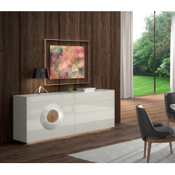 Merida luxury bespoke sideboard with optional lighting