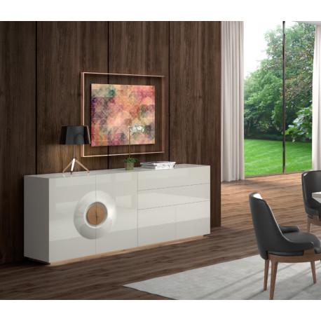 Merida luxury bespoke sideboard with optional lighting