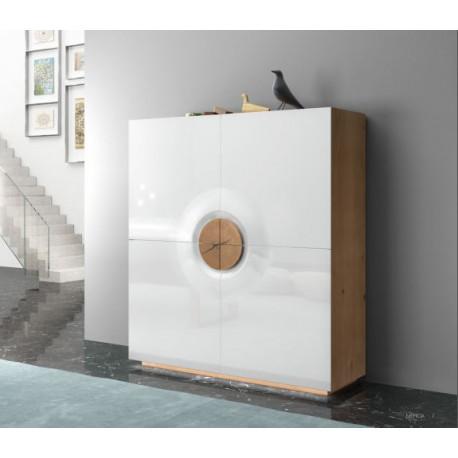 Merida four door luxury storage cabinet