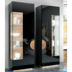 Merida narrow luxury display cabinet