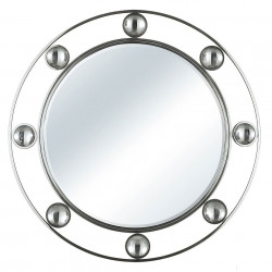 Papillon contemporary stainless mirror