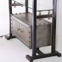 Luna Bella Handcrafted Vintage Shelving Unit With Lighting