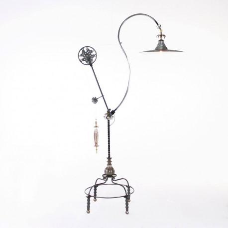 LUNA BELLA MAGNUM PULLEY FLOOR LAMP