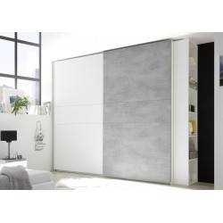 Amalti modern wardrobe with sliding doors