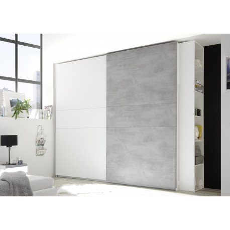 Amalti modern wardrobe with sliding doors