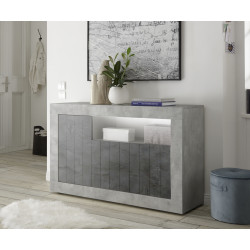 Fiorano 138cm sideboard in beton and oxide finish