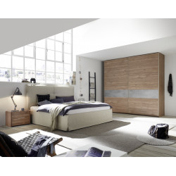 Amalti III modern wardrobe with sliding doors