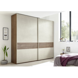 Amalti V modern wardrobe with decorative printed insert