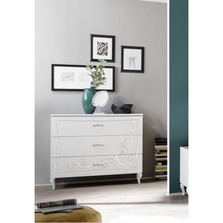 Gioia 3 drawers dresser