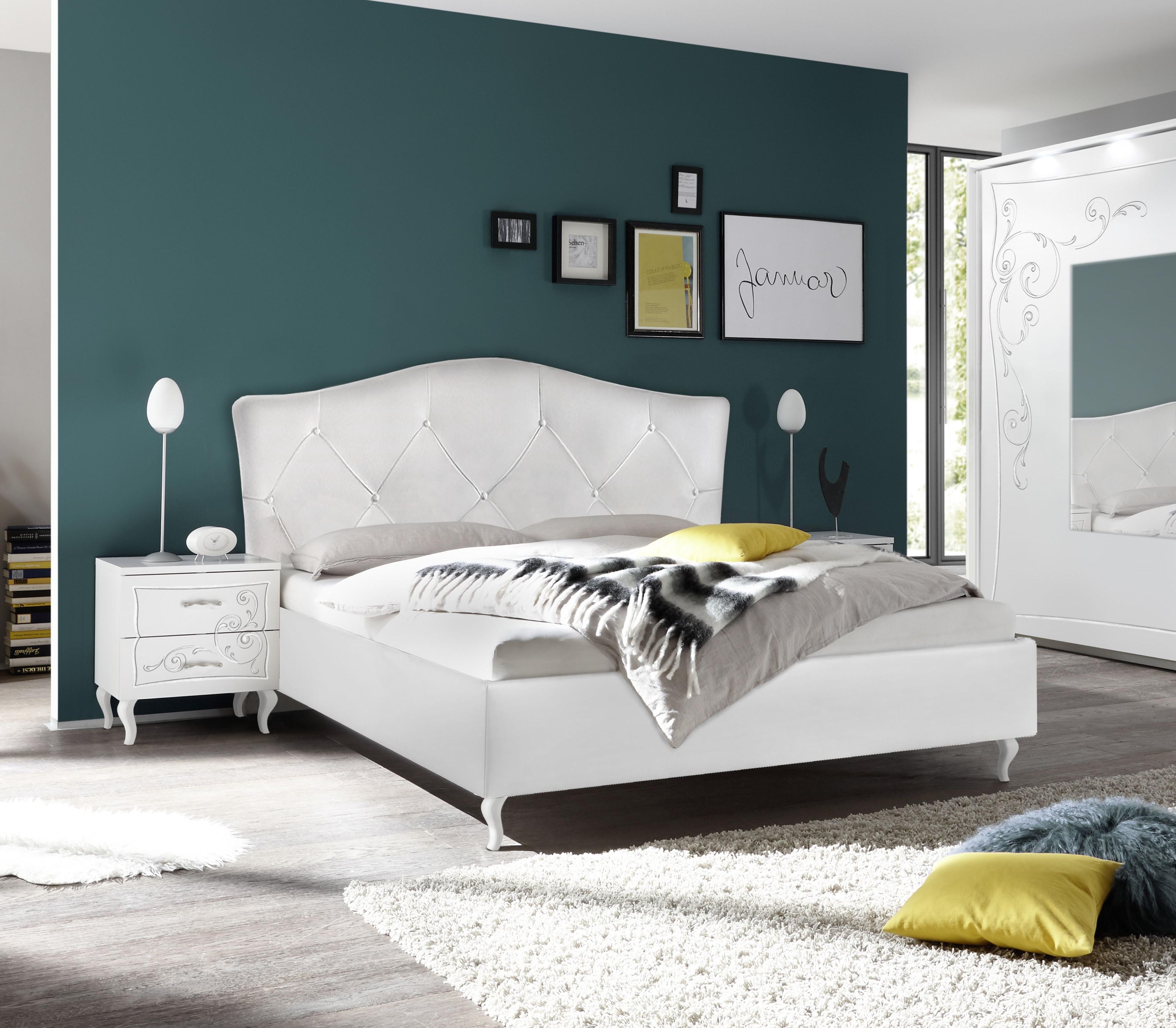 Gioia Modern Upholstered Italian Bed With Storage 3788 Sena Home Furniture