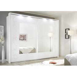 Soler matt white sliding doors wardrobe