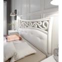 Soler modern upholstered Italian bed in various sizes