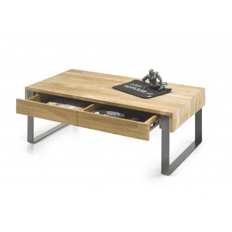Calgary coffee table in oiled oak