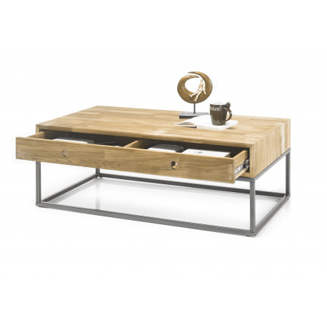 Quebec coffee table in oiled oak