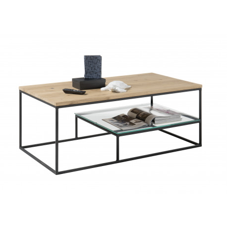 Thore coffee table in oiled oak