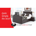 Zinc TV bed frame in King size-Stock Clearance