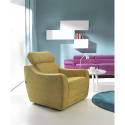 Sorizo modern armchair in various finishes