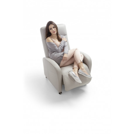 Tom modern recliner armchair in various finishes