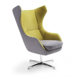 Zing modern armchair in various finishes