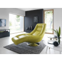 Orio modern chaise lounge with recliner