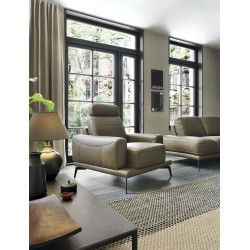 Merano modern armchair in various finishes