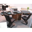 Breeze Oval Extendable Table Ex Display Dining Tables