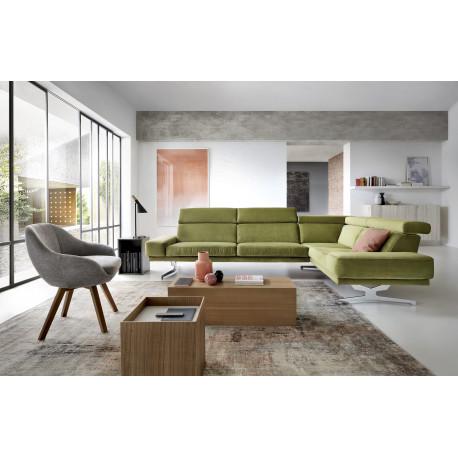Albano modern corner sofa - Sofas (3880) - Sena Home Furniture