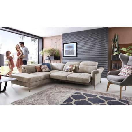 Fava luxury corner sofa bed