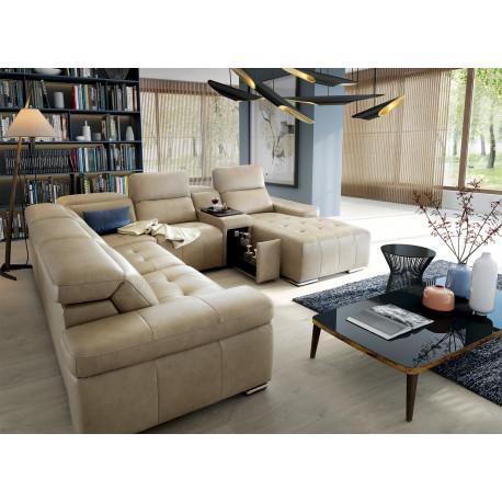 Domo Modulio U shaped Modular Sofa with sleeping option