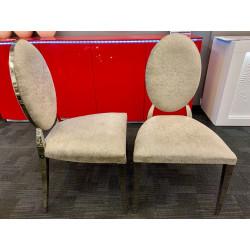 Orbit glamour dining chair