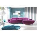 Coletto luxury corner sofa bed with ottoman