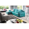 Fiorino II luxury corner sofa bed with ottoman