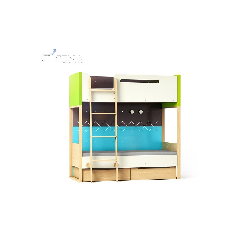 Loft Bunk Bed Furniture By Room Sena Home Furniture