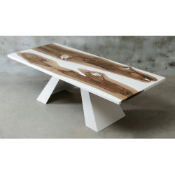 Aria II bespoke resin dining table