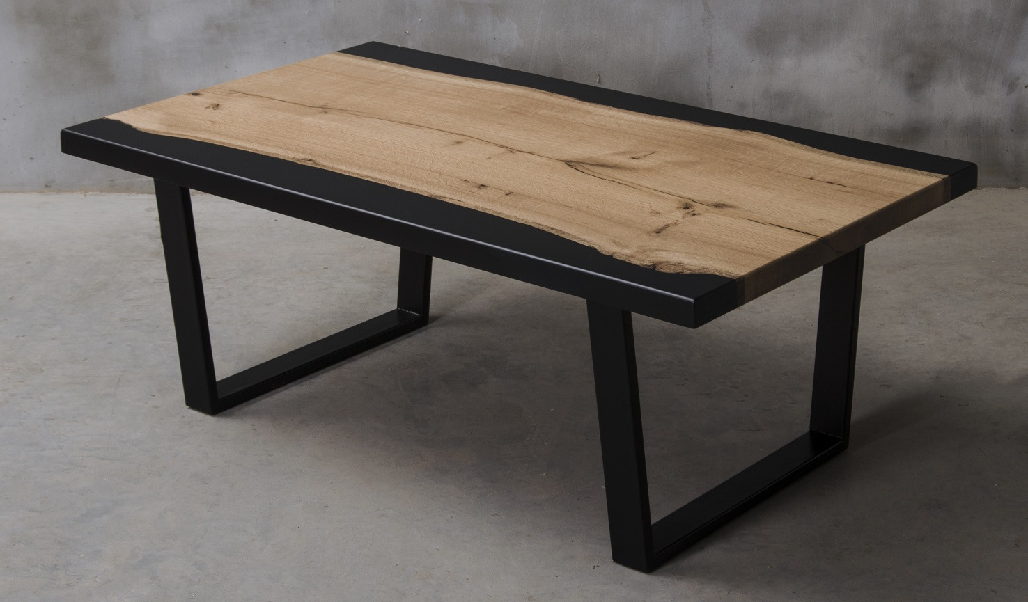 Picture of: Aria Iii Black Resin Coffee Table Modern Wood Collections 3935 Sena Home Furniture