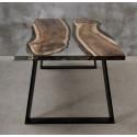 Aria II bespoke resin dining table