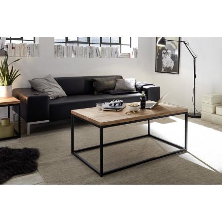 Sakura II coffee table with natural oak