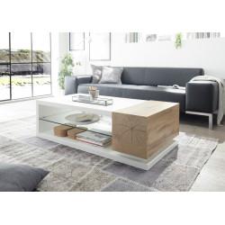 Manisa matt lacquer coffee table