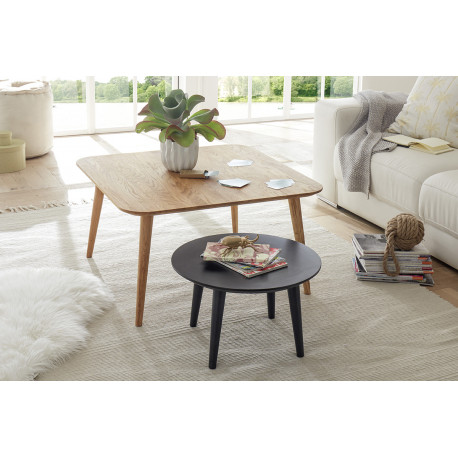 Aleta contemporary set of two coffee tables