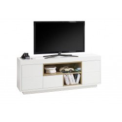Cronos 169cm matt white TV unit