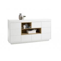 Cronos 169cm matt white sideboard