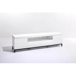 Grenoble 190cm white high gloss tv unit