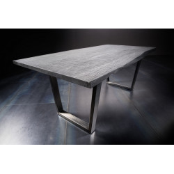 Calabria grey acacia wood table in various options