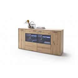 Portland 184cm assembled display sideboard