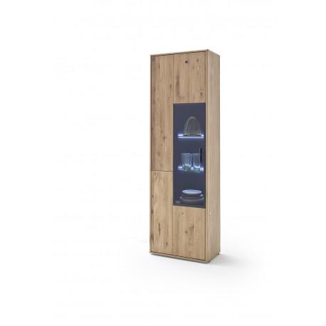 Portland 64cm assembled display cabinet