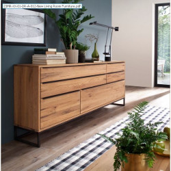 Dakar assembled solid wood sideboard