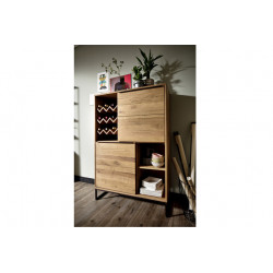 Dakar assembled sideboard with wine rack