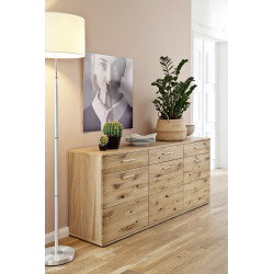 Santori 180cm assembled solid wood sideboard