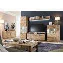 Santori 180cm assembled solid wood sideboard